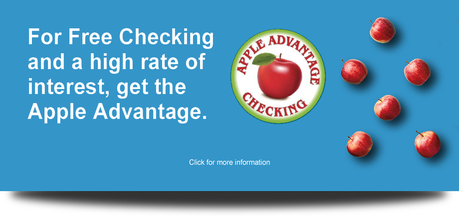 Apple Advantage Checking Graphic