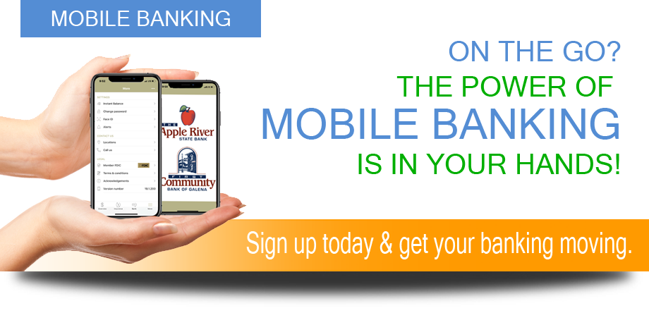 Mobile Banking Graphic