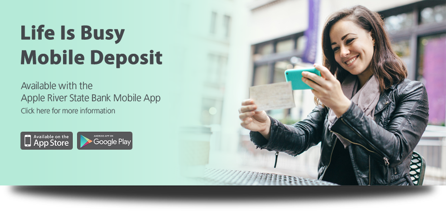 Mobile Deposit Graphic