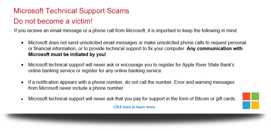 Microsoft Scams